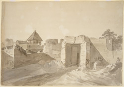 Gate of the Fort, Karauli. 26 January 1789